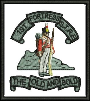 1st Fortress Embroidered Badge